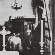 Photo prise dans une église en France