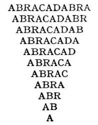 forumule abracadabra