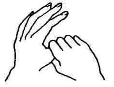 Thumb holding